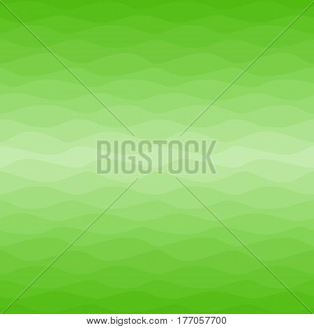 Seamless yellow green spring pattern. Graphic design element for web sites, fabric, scrapbooking, greeting cards. Gradual color waves background. Fresh grass, easter background. Vector illustration