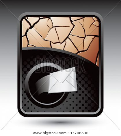 envelope coming out of hole