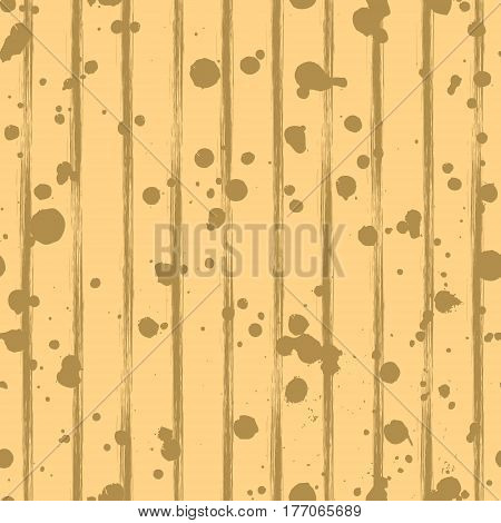 Vector Seamless Pattern, Gray Tile With Inc Splash, Blots, Smudge And Brush Strokes. Grunge Endless