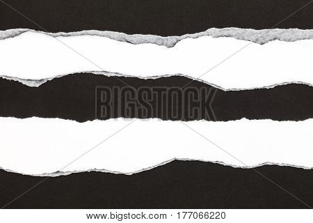 Ripped black paper copy space for your text