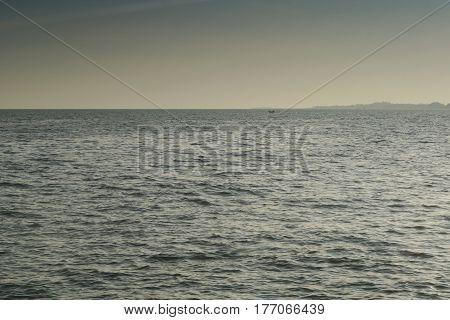 Pacific ocean, the tropical beach and coast.