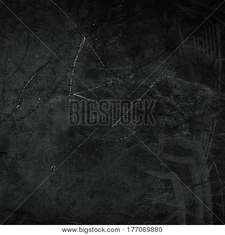 Abstract black textured background close up macro