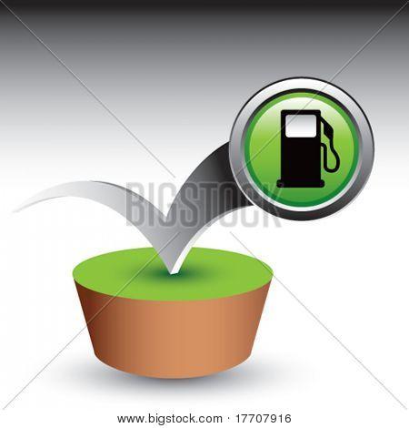 gas or fuel icon bouncing