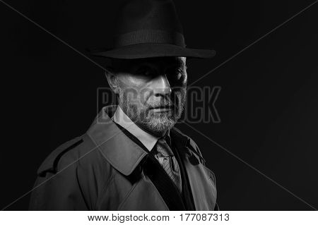 1950S Noir Movie Character