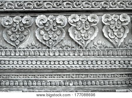 Thai Temple detail