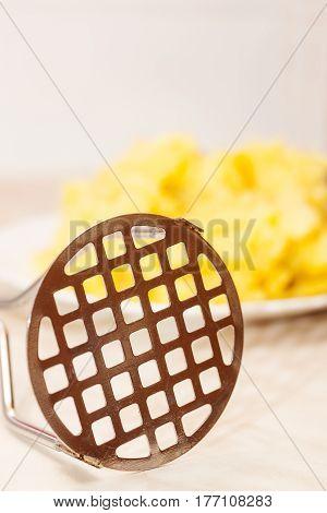 Potato Masher Closeup