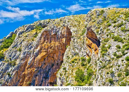 Cikola River Canyon Cliffs View
