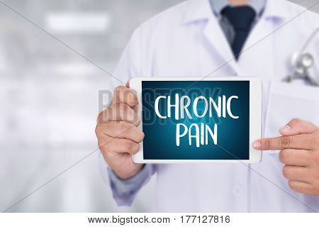 Chronic Pain  Healthcare Modern Medical Doctor Concept