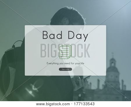 Bad day word young people