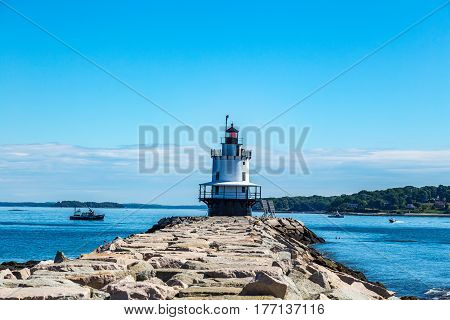 Spring Point Ledge Light Portland Maine