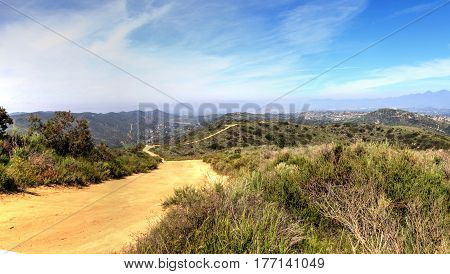 Hiking Trail At The Top Of The World In Laguna Beach