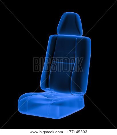 X Ray Car Seat