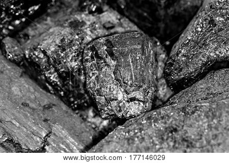coal background . Photo taken by professional camera and lens