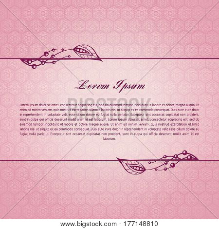 Rose calligraphic decorative elements. Graphic elements mimic leaves. Retro style design Collection invitations, banners, posters, banners, icons and logos. poster