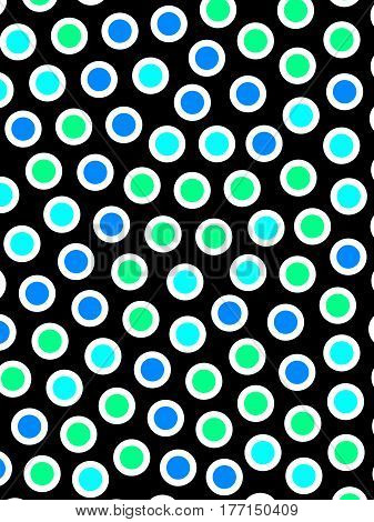 Orbs Background With Irregular Pattern For Modern Illustration