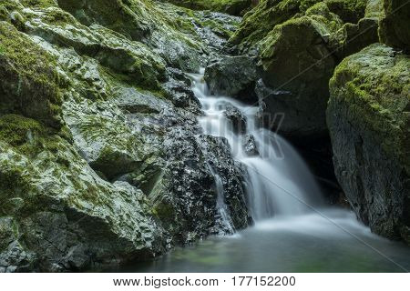Cataract Falls, Mount Tamalpais State Park, Marin County, California, USA