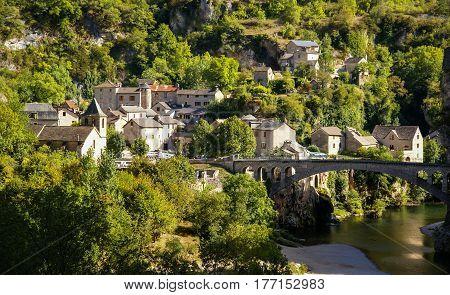 Saint Chely Du Tarn, Tarn Gorges, France