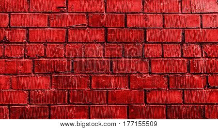 Brick wall, brick, red brick wall, rough brick wall, red brick, brickwork