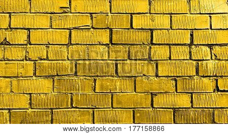 Brick wall, brick, yellow brick wall, rough brick wall, yellow brick, brick wall