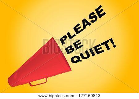 Please Be Quiet! Concept