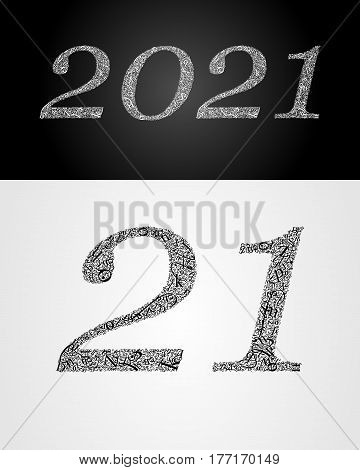 2021 year. Anniversary. World book and copyright day. International Day of writer. International Day of the Book. World Book Day. Studying and learning concept. Vector illustration.