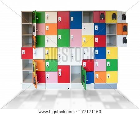 Cabinet Lockers, Different Sizes