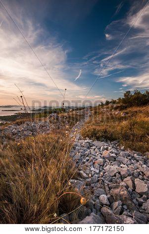 Sunset Over Kornati Islands, Croatia, Dalmatia
