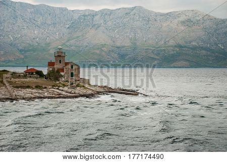 photo of lighthouse in Sucuraj Hvar Island Croatia