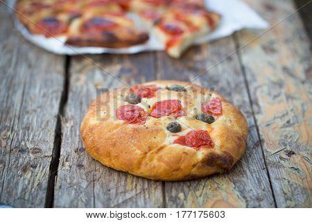 Italian Focaccia Bread