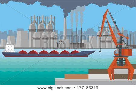 Large Industrial Port.eps
