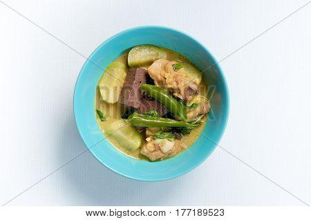 Green Curry With Chicken (kang Keaw Wan Gai)