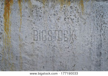 Gray concrete with rust and background texture
