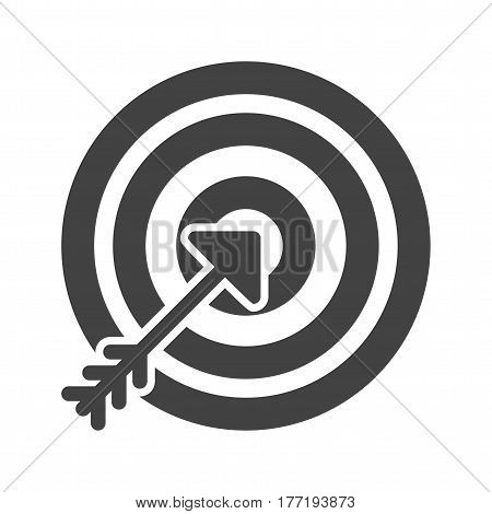 Target, success, accuracy icon vector image. Can also be used for business administration. Suitable for web apps, mobile apps and print media.