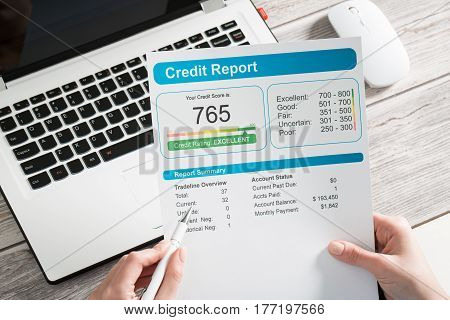 report credit score banking borrowing application risk form document