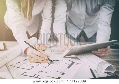interior design designer planning architecture drawing business