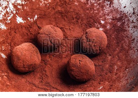 Marzipan - sweetmeat - chocolate balls - Belgian chocolate