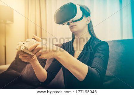 gaming game play gamer virtual glasses vr 3d veiw vision