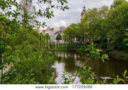 street view of Hamburg, Germany