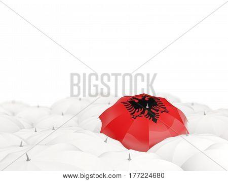 Umbrella With Flag Of Albania