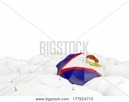 Umbrella With Flag Of American Samoa