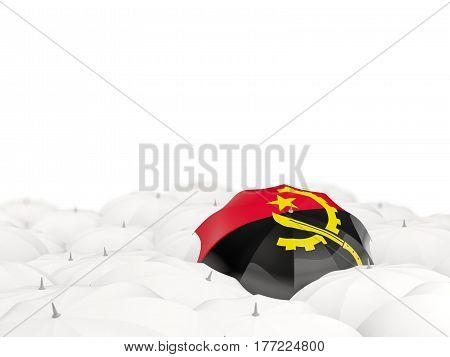 Umbrella With Flag Of Angola
