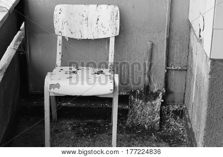 Dirty Old Chair