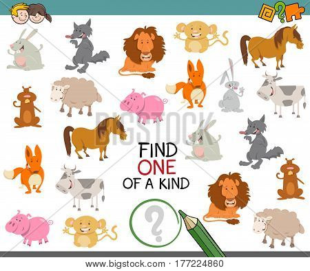 One Of A Kind With Animals