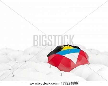 Umbrella With Flag Of Antigua And Barbuda