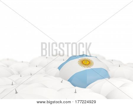 Umbrella With Flag Of Argentina