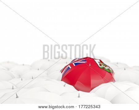 Umbrella With Flag Of Bermuda