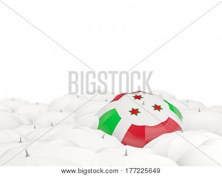 Umbrella With Flag Of Burundi