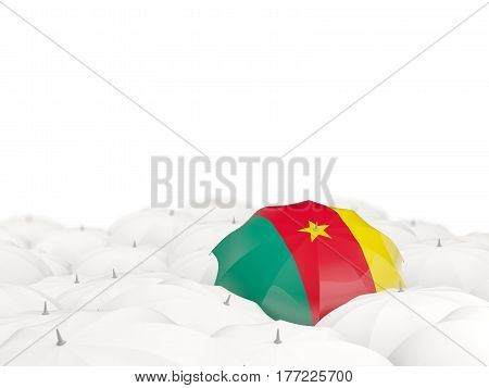 Umbrella With Flag Of Cameroon
