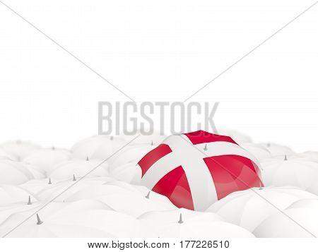 Umbrella With Flag Of Denmark