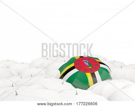 Umbrella With Flag Of Dominica